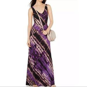 INC Dress Purple Maxi Tie-Dye NWT
